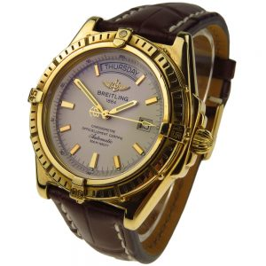 Breitling Windrider Headwind 18k Gold K45355