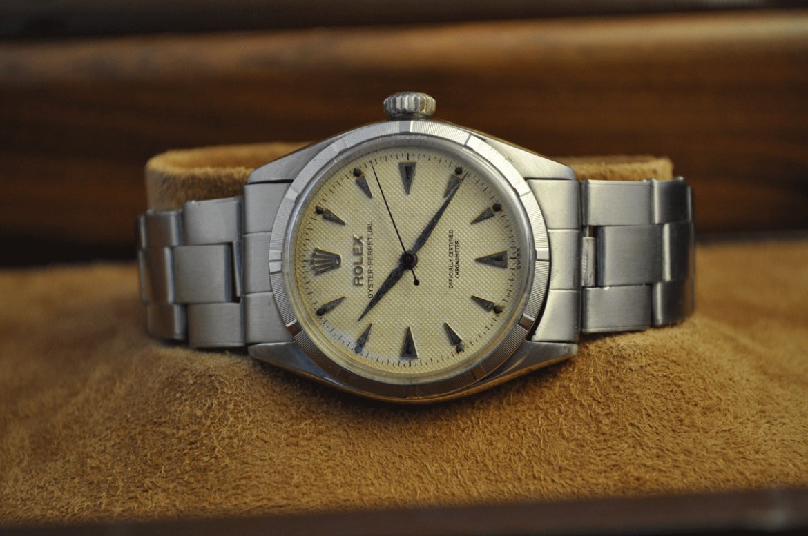 New Rolex timepiece boasts 1950s feature