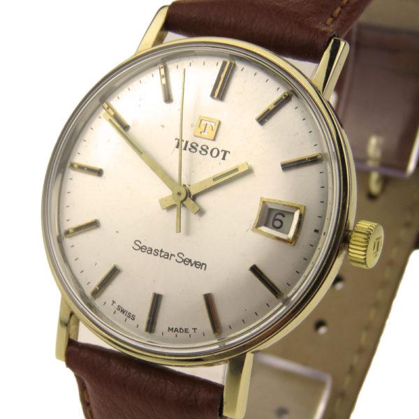 Tissot Seastar Seven Vintage 9ct Gold