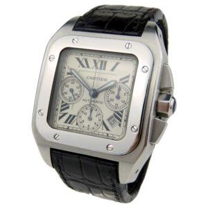 Cartier Santos 100 Chrono W20090X8