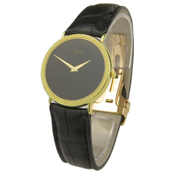 Piaget Tradition 18k Gold Quartz