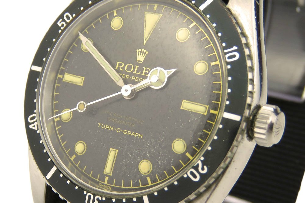 Parkers stock rare Rolex Turn-O-Graph