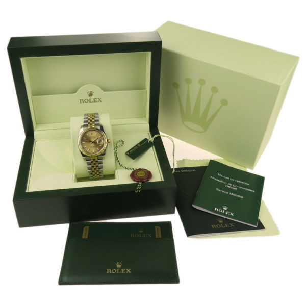 Rolex Datejust Oyster Perpetual Steel & Gold 116233