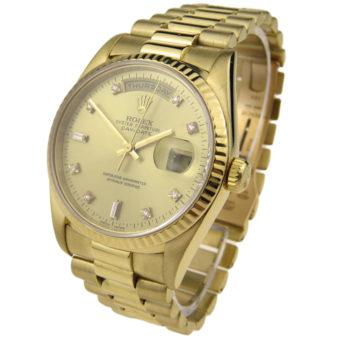 Rolex Day Date 18k Gold 18238