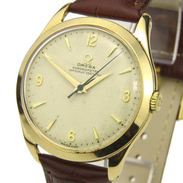 Omega Vintage Oversize 18k Chronometre