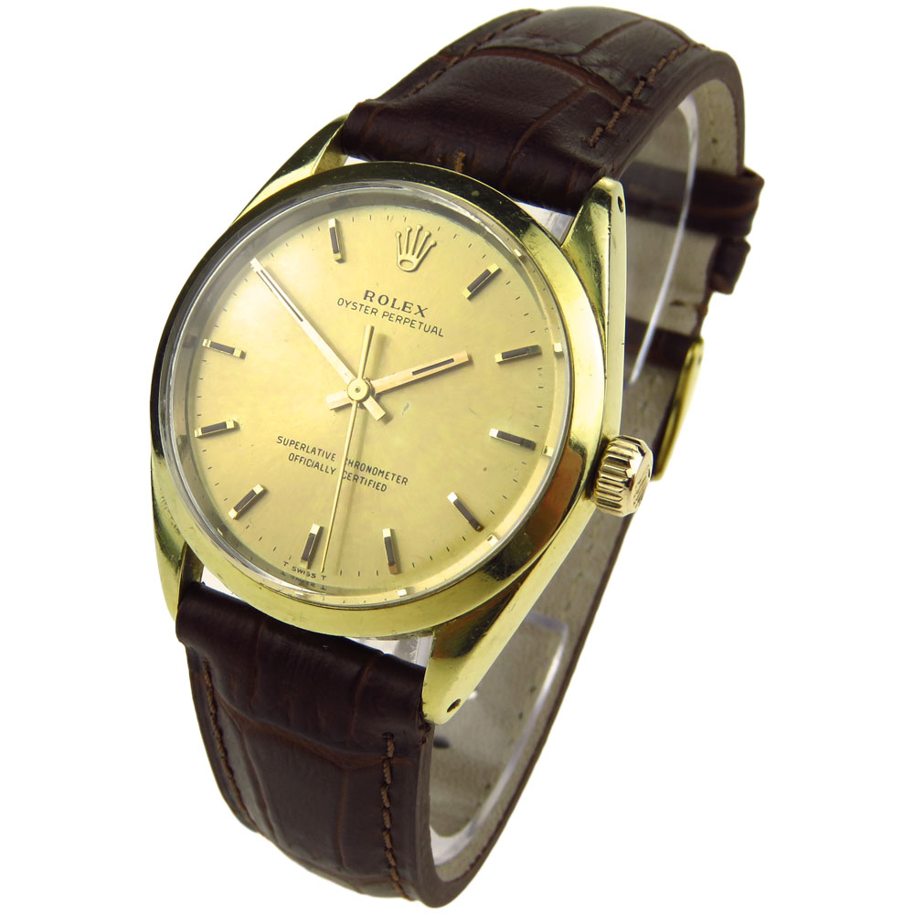 Rolex Oyster Perpetual Vintage Gold Cap 1024 Parkers