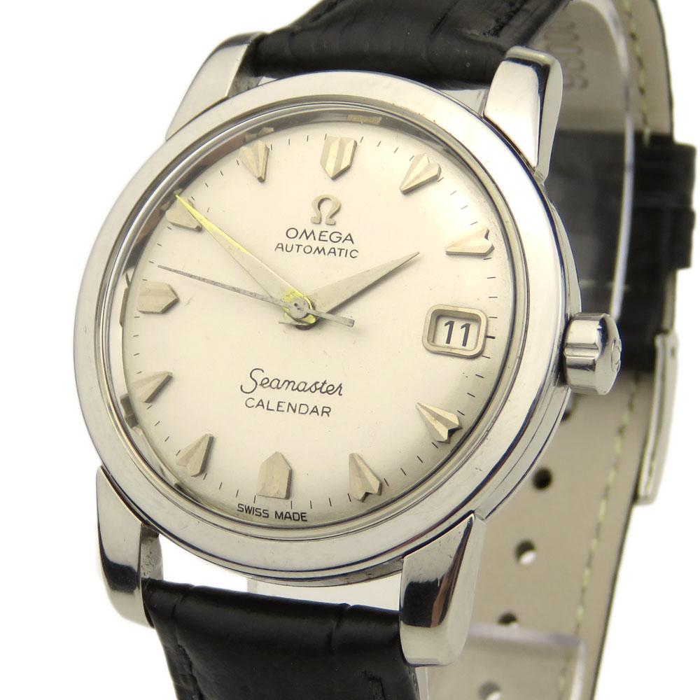 Omega Seamaster Calendar Vintage : Parkers jewellers omega seamaster calendar vintage