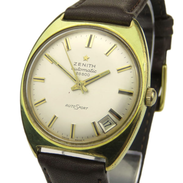 Zenith AutoSport Gold Plated Automatic