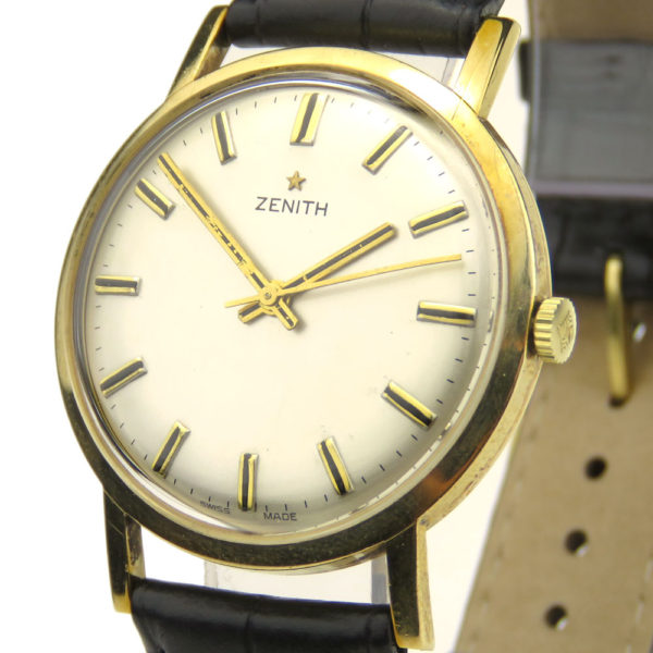 Zenith 28800 High Beat 9ct Vintage Mechanical