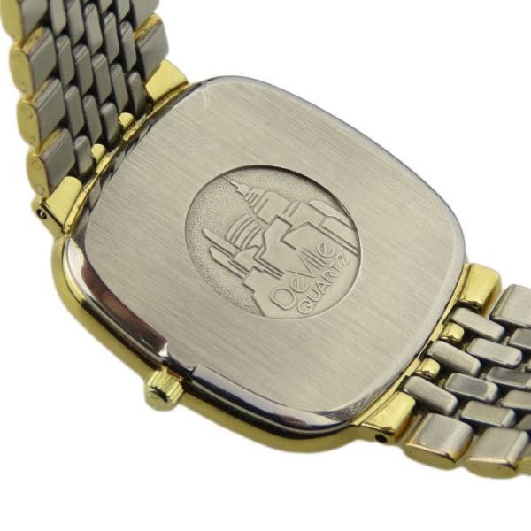Omega Steel & Gold Quartz