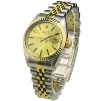 Rolex Lady Date Oyster Perpetual Steel & Gold 6917
