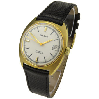 Bulova Vintage 9ct Gold Automatic