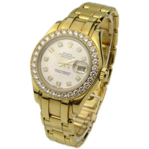 Rolex Pearlmaster Lady Datejust 18k 69298