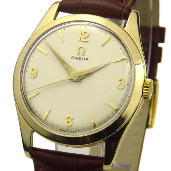 Omega Vintage 9ct Mechanical
