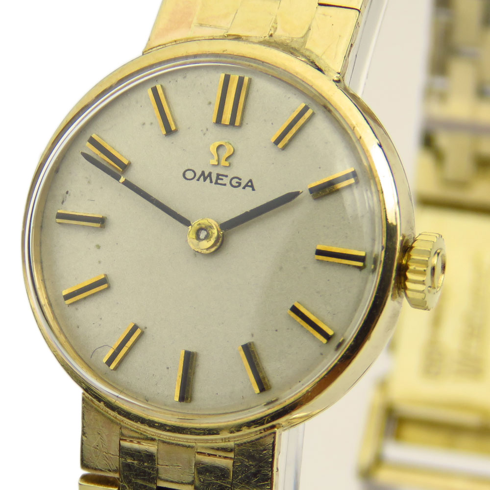 Omega Ladies Vintage 9ct Mechanical