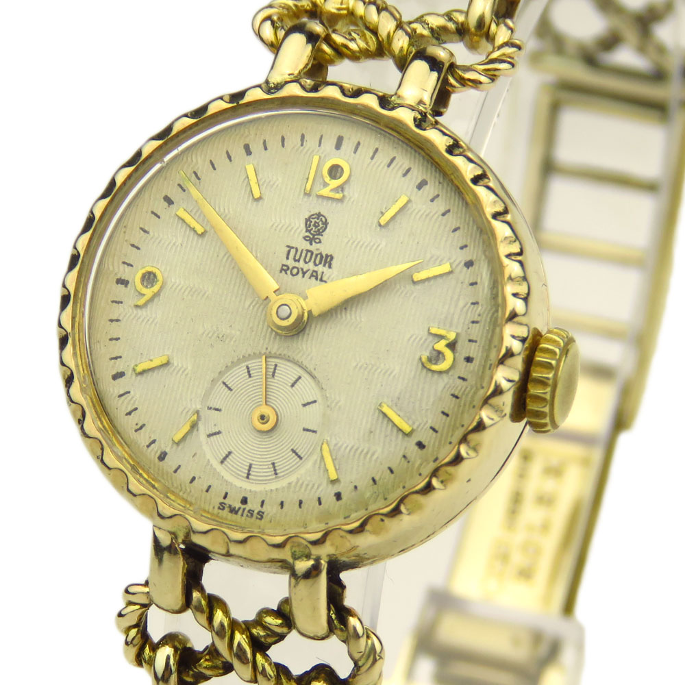 Tudor Royal Vintage Ladies 9ct Mechanical