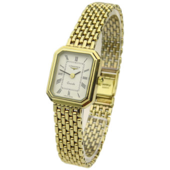 Longines 9ct Gold Quartz