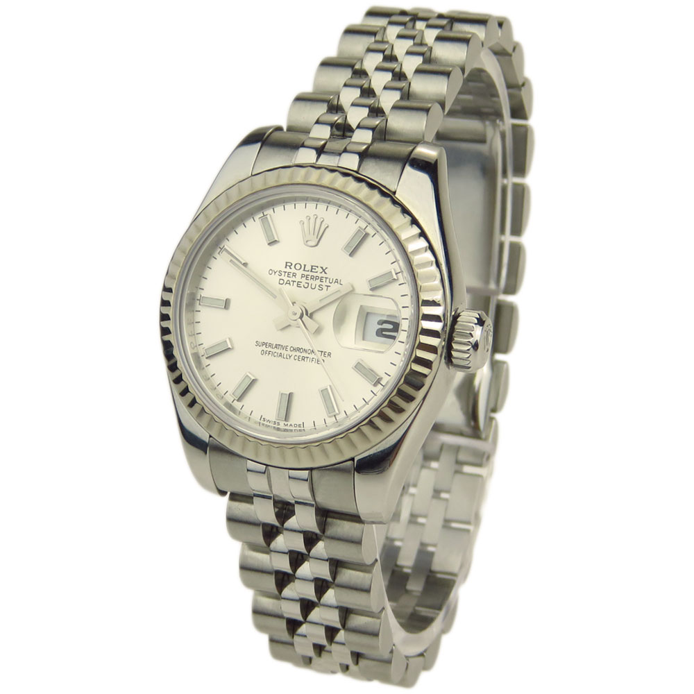 rolex lady datejust oyster perpetual 179174 parkers jewellers. Black Bedroom Furniture Sets. Home Design Ideas
