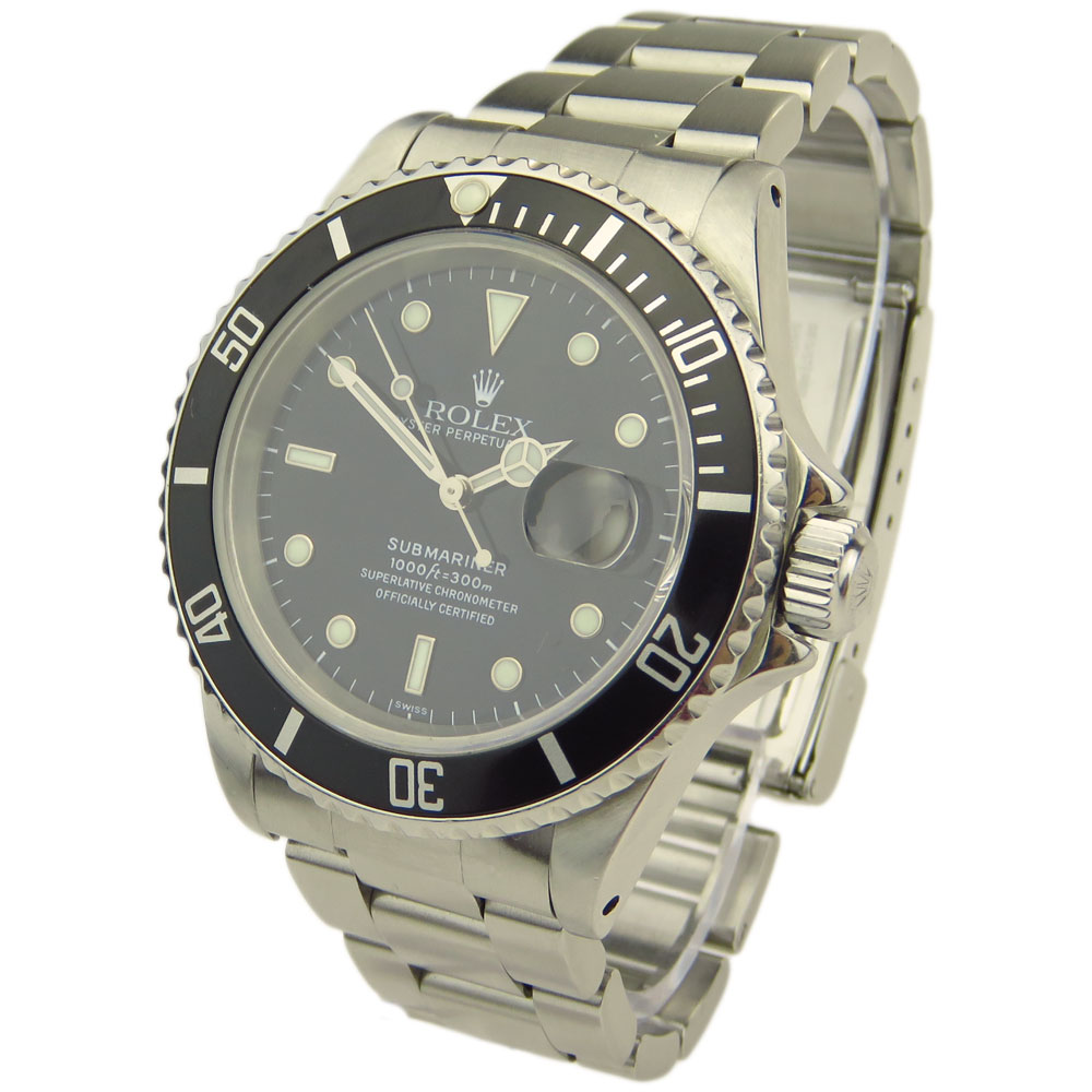 Rolex Submariner Oyster Perpetual Date 16610