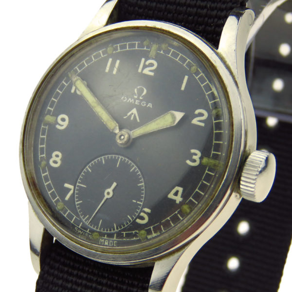 Omega Vintage W.W.W. Military Mechanical