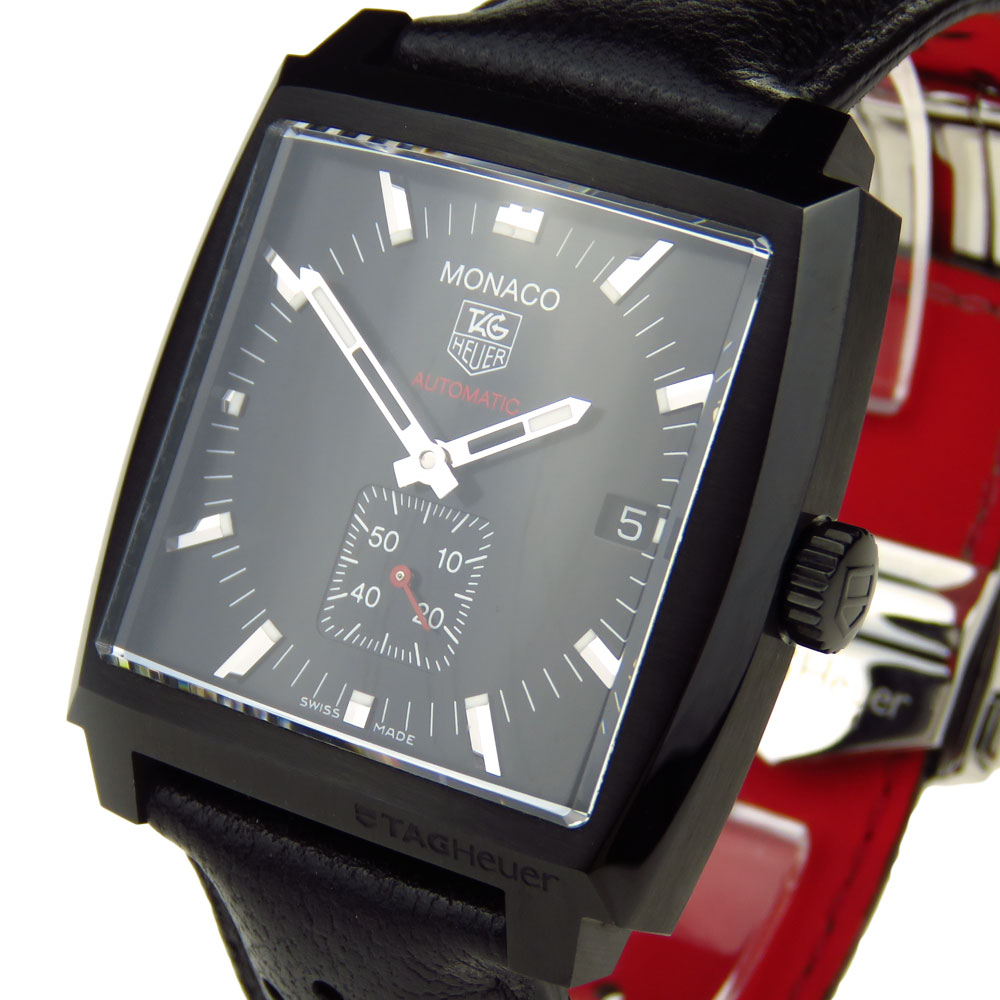 tag heuer monaco automatic ww2119 parkers jewellers. Black Bedroom Furniture Sets. Home Design Ideas