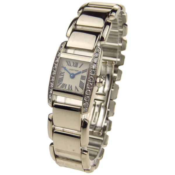 Cartier Tankissime 18ct White Gold WE70069H