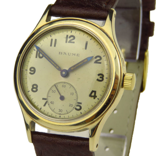 Baume Vintage 9ct Mechanical