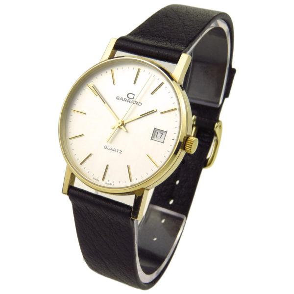 Garrard 9ct Gold Quartz Wristwatch