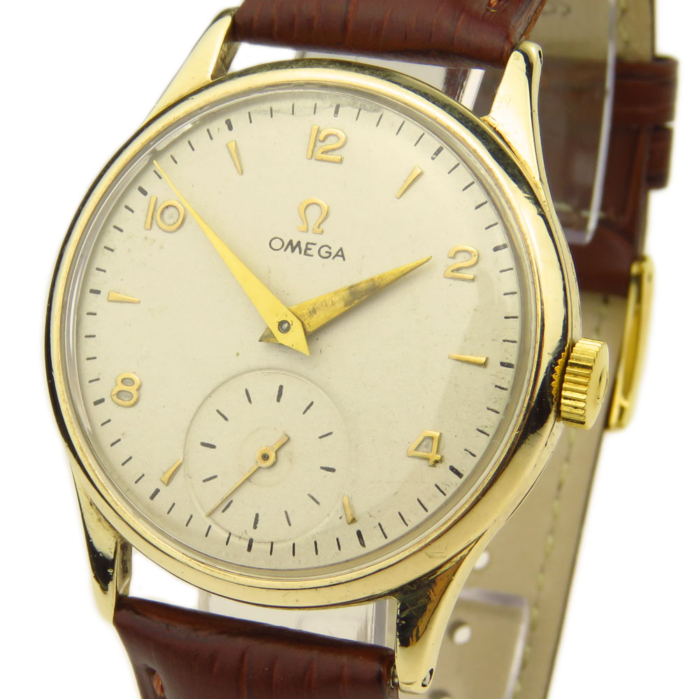 Omega Vintage 9ct Mechanical
