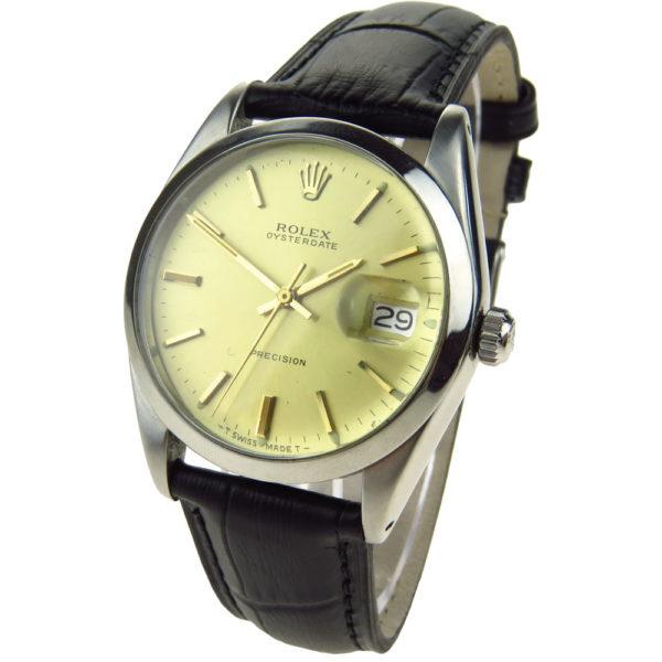 Rolex Oysterdate Precision Mechanical Wristwatch 6694