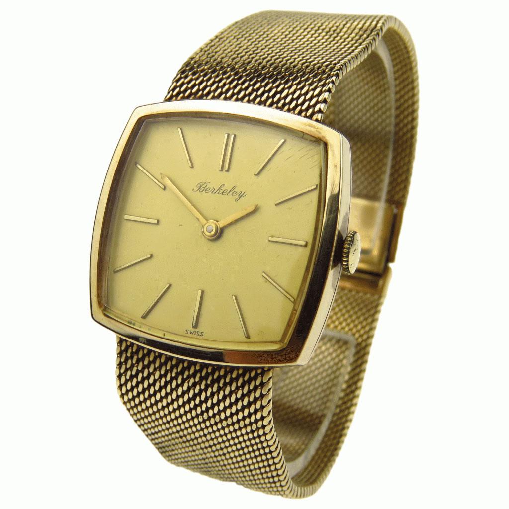 91e01b60509 Berkeley Vintage 9ct Mechanical Wristwatch - Parkers Jewellers