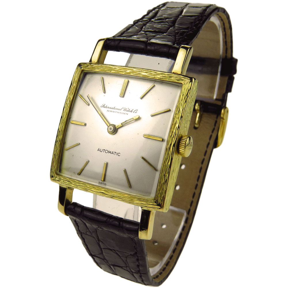 6896a96c81e342 International Watch Co 18k Vintage Automatic - Parkers Jewellers