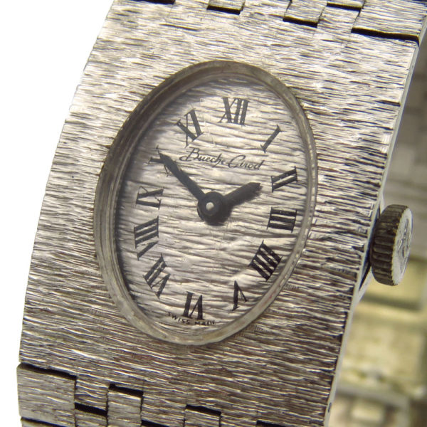 Bueche Girod 9ct White Gold Mechanical