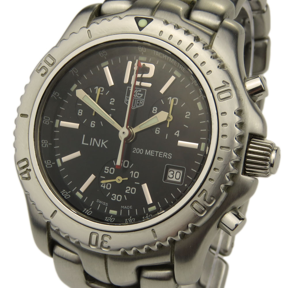 Tag Heuer Link Quartz Chrono Ct1111 Parkers Jewellers