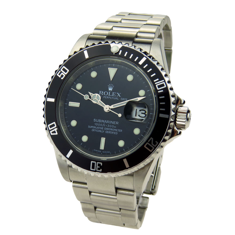 rolex submariner oyster perpetual date 16610 parkers jewellers. Black Bedroom Furniture Sets. Home Design Ideas