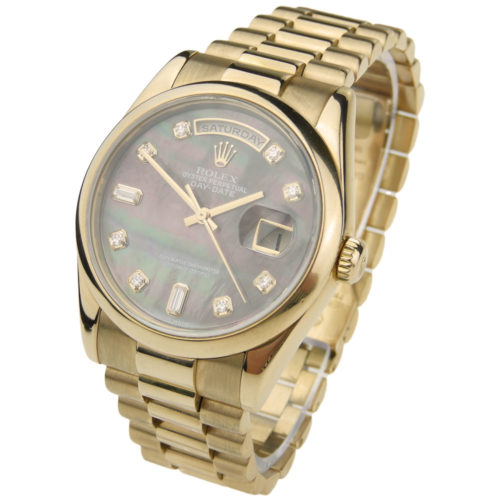 Rolex Day-Date President 18ct Rose Gold 118205