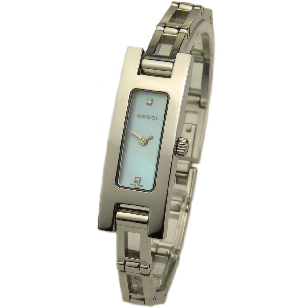 28322e01310 Gucci Ladies 3900L Mother Of Pearl Quartz - Parkers Jewellers