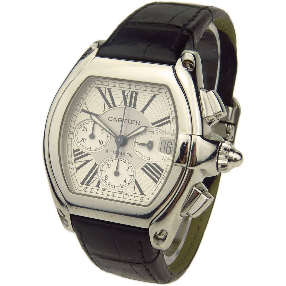 Cartier Roadster Chrono Automatic W62019X6 - Parkers Jewellers 364eee38ab