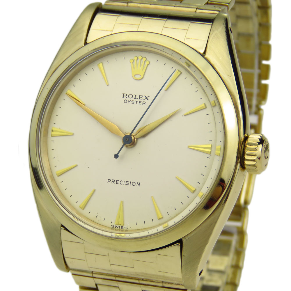 Rolex Oyster Precision 9ct Vintage 6426