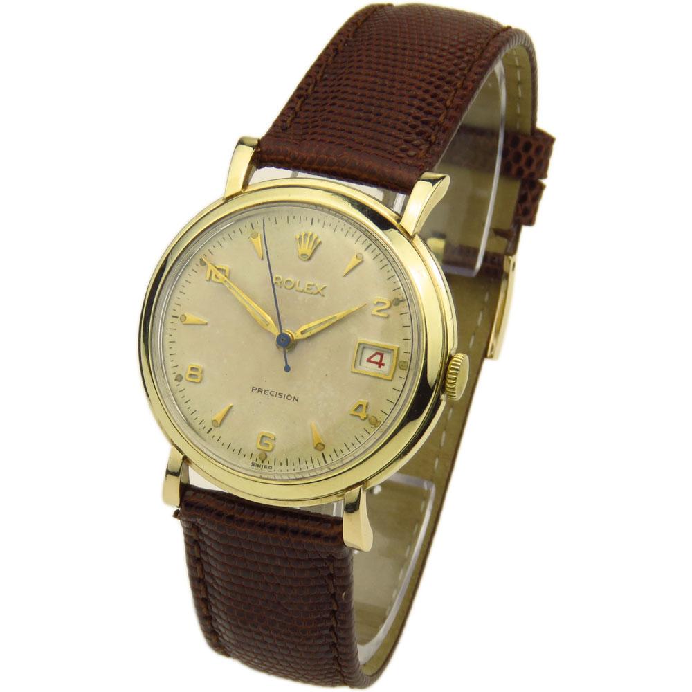 269: Rolex Precision 9ct Gold Vintage Mechanical Roulette 269