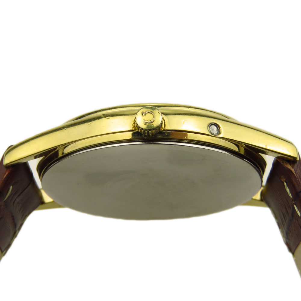 Omega Seamaster Gold Plate Quartz 196.0281