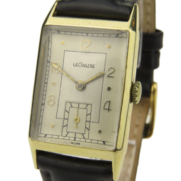 LeCoultre 9ct Vintage Mechanical