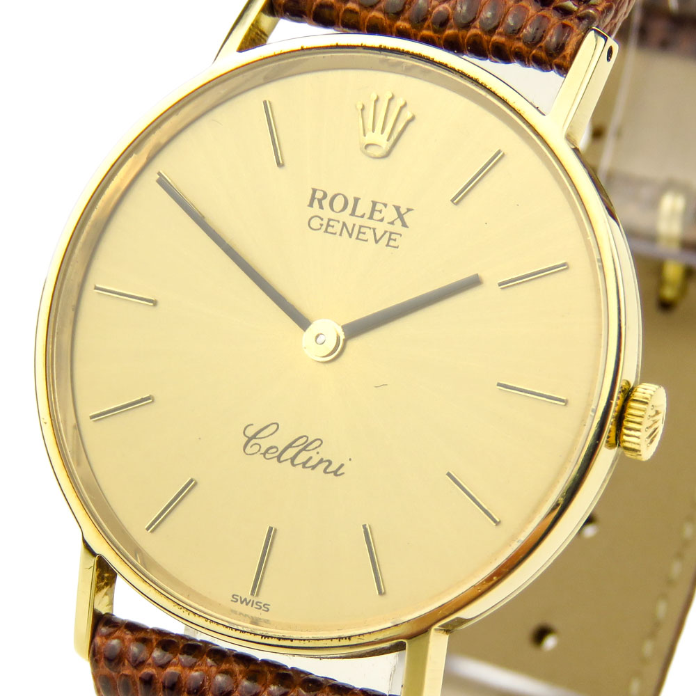 Rolex Cellini 14k Mechanical 3833