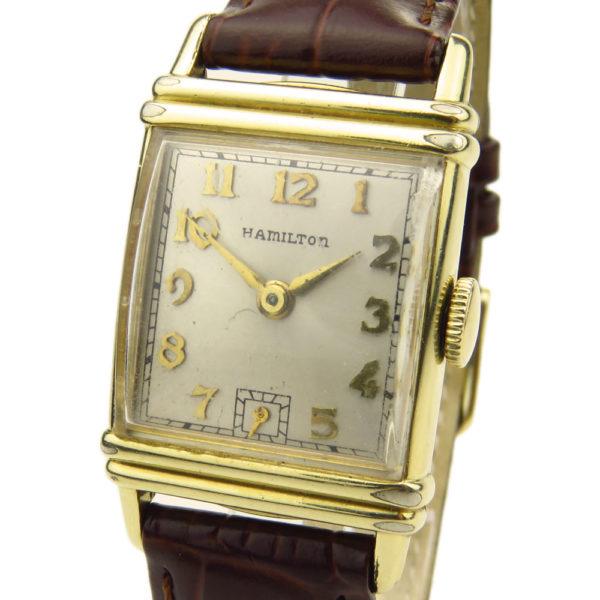 Hamilton Vintage 14k Gold Filled Mechanical