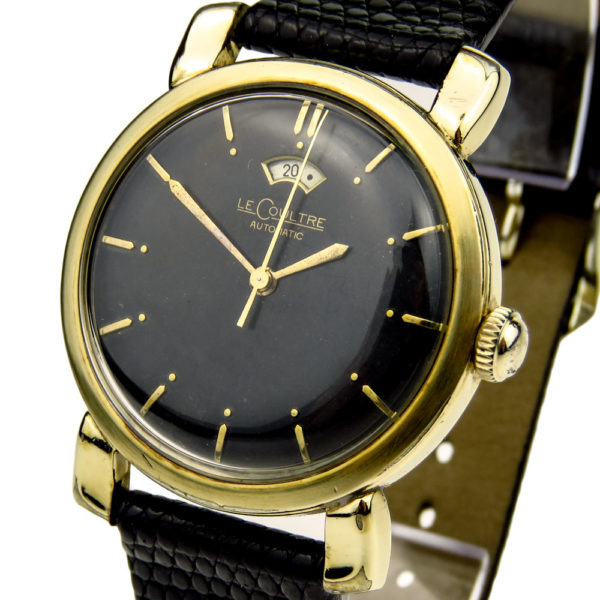 Jaeger-LeCoultre Vintage 10ct Gold Filled Bumper Automatic Power Reserve