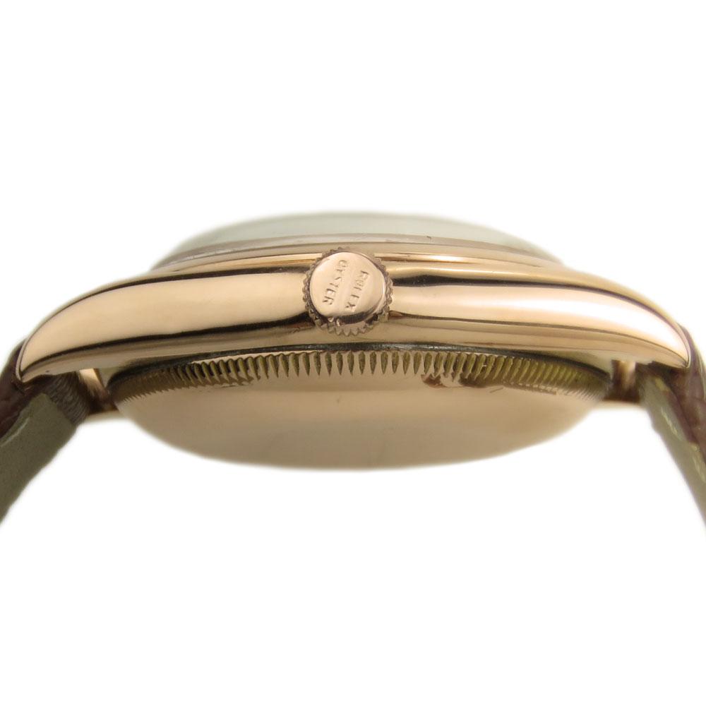 Rolex Oyster Perpetual 14k Rose Gold Vintage