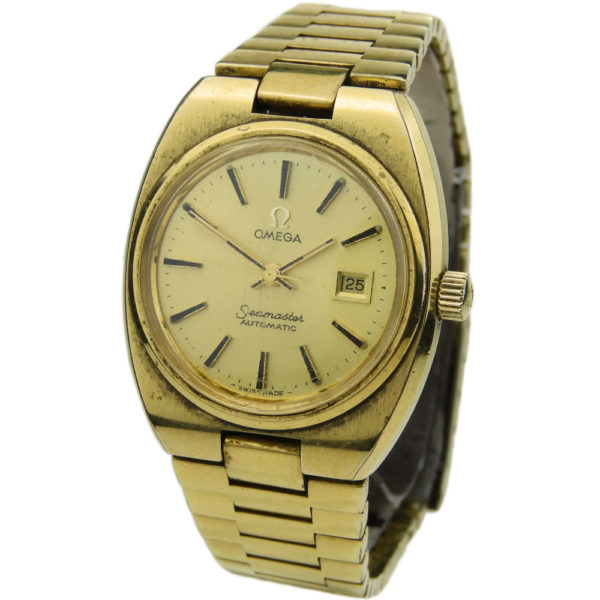 Omega Lady Seamaster Gold Plated Automatic