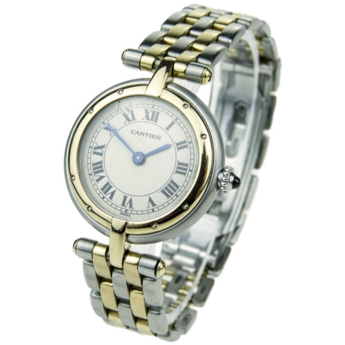 Cartier Lady Panthere Ronde Steel & Gold