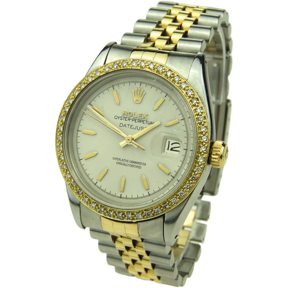 Rolex Datejust Oyster Perpetual Steel & Gold 16013