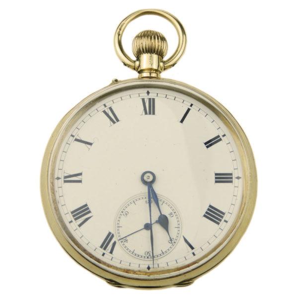 15k Gold Vintage Pocket Watch
